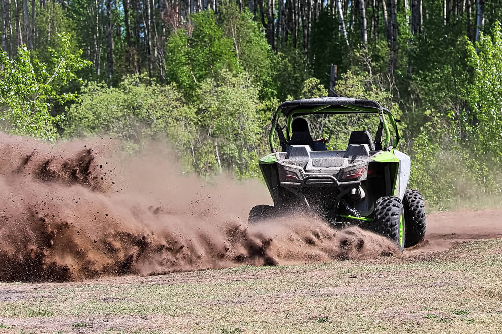 how fast does a utv go