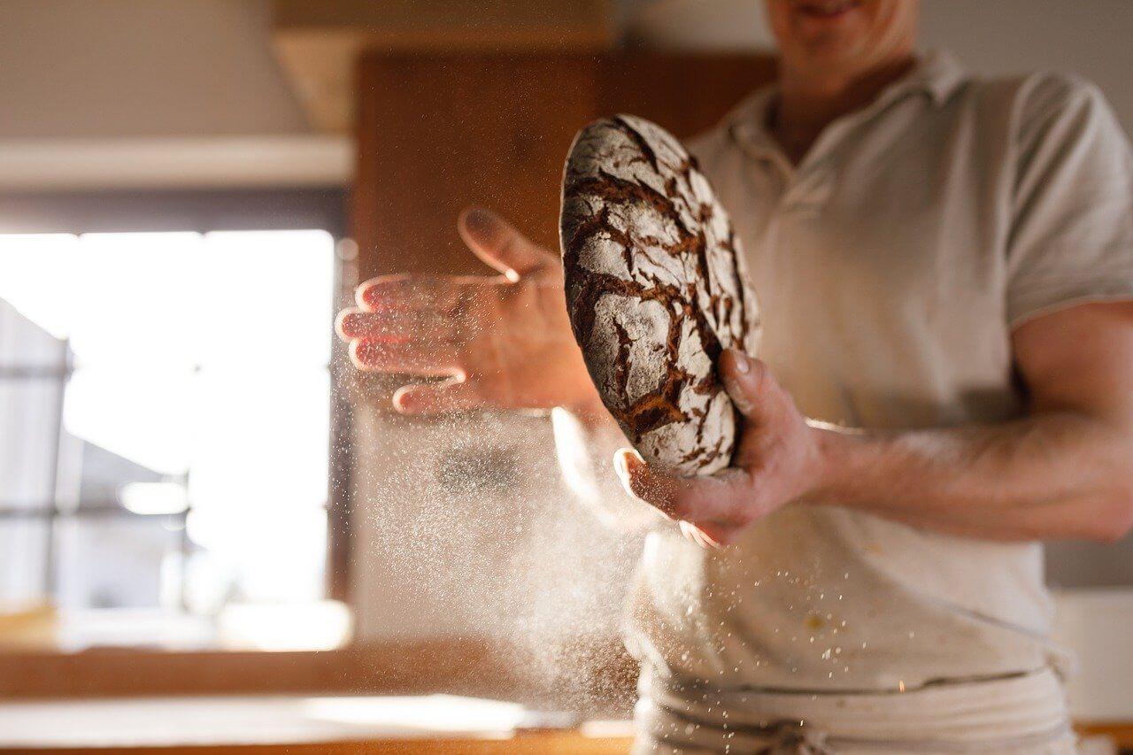 quick and easy no knead farmhouse bread