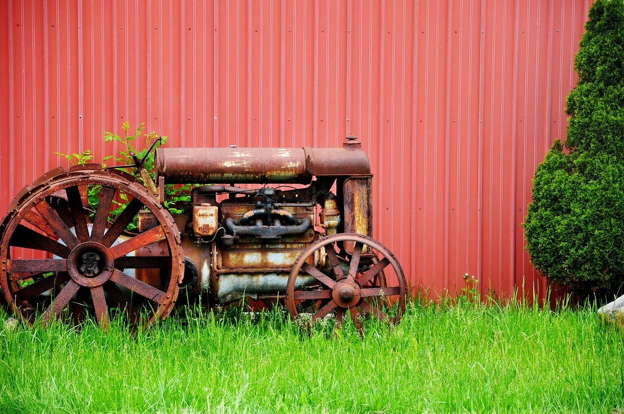 best paint for rusty farm equipment
