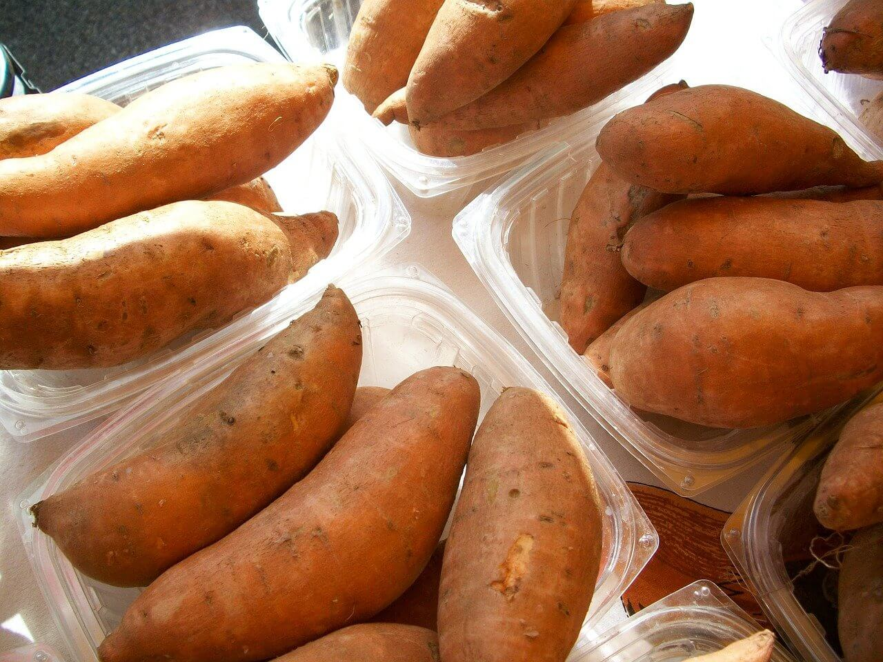 companion plants for sweet potatoes