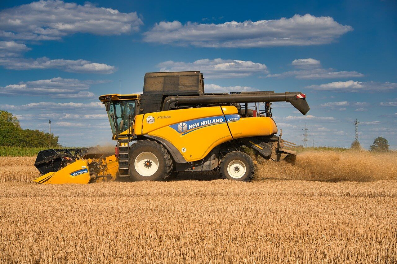 price of combine harvesters