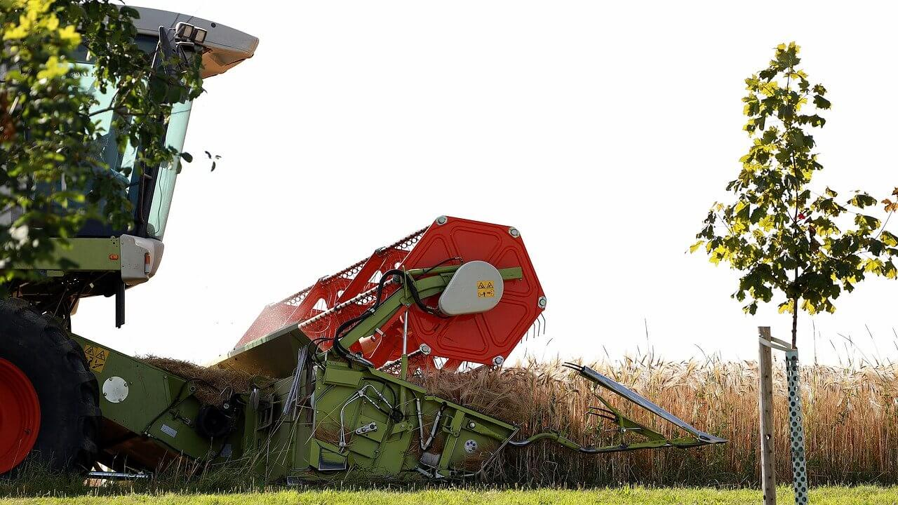 Combines have been in use on farms in the United States since 1935