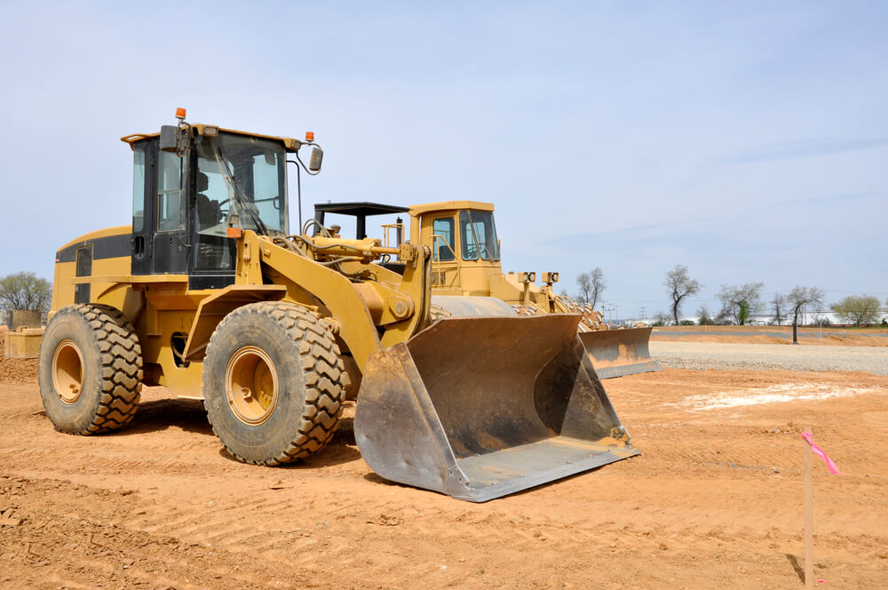 how to grade with a front end loader