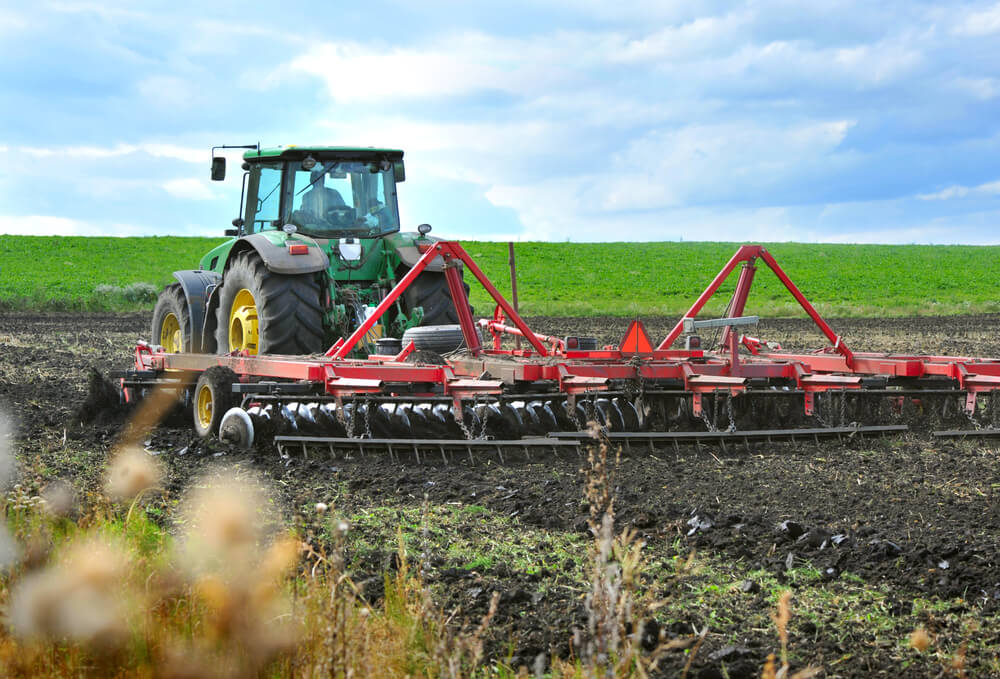how to set up a field cultivator