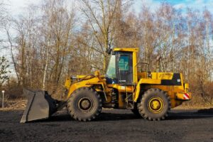 how to dig with a front end loader