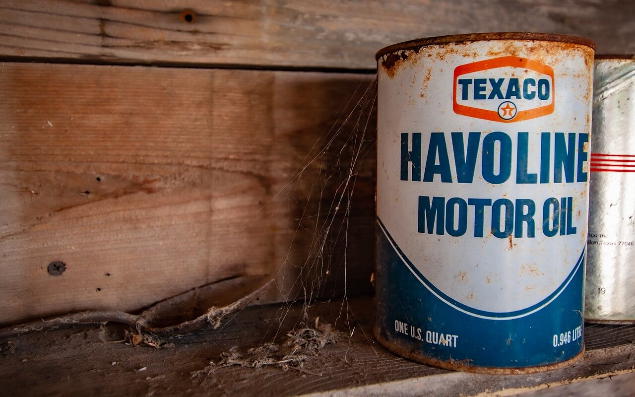 what do I do with empty motor oil container